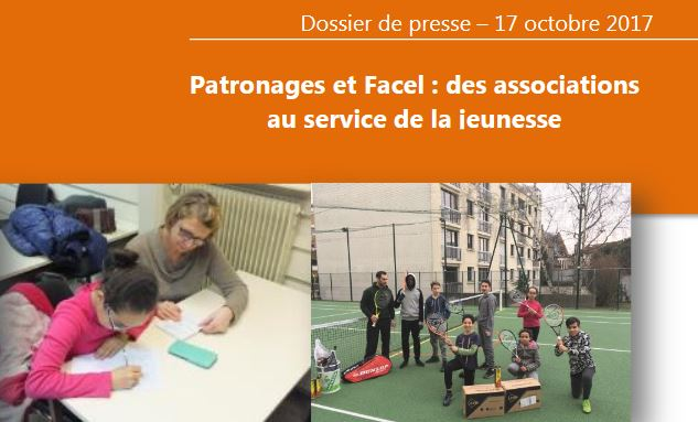 Dossier de Presse : «Patronages et Facel : des associations au service de la jeunesse»