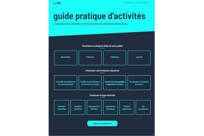Le « Guide d'activités »