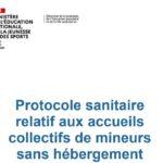 PROTOCOLE SANITAIRE applicable aux accueils collectifs de mineurs (07 septembre 2021)